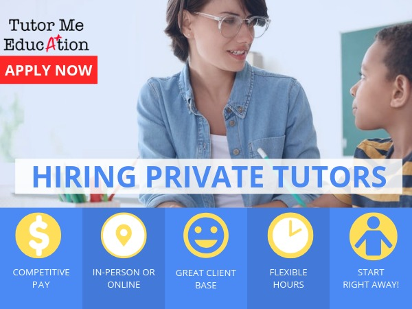 Tutor Job - Private In-Home Tutoring & Test-Preparation